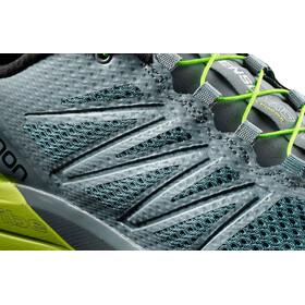 Salomon Sense Pro Max Shoes Men Stormy Weather/Acid Lime/Black